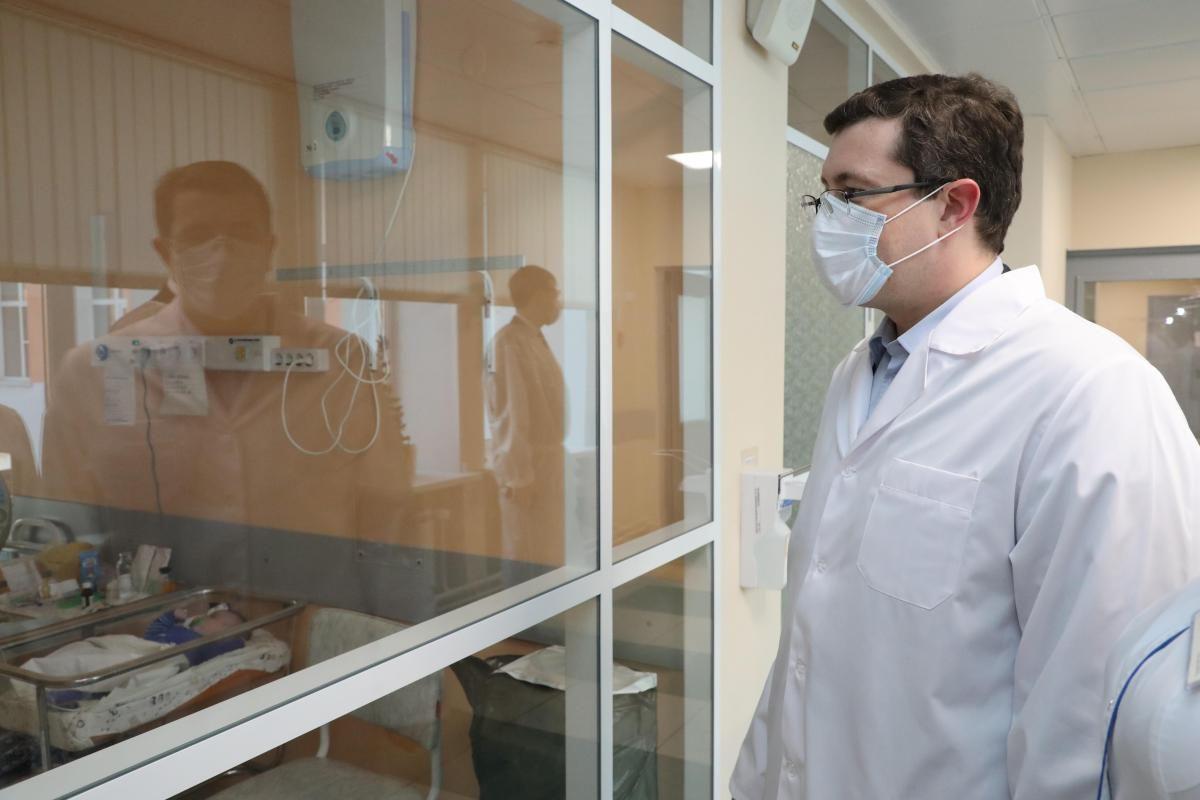 Губернатор Глеб Никитин сделал прививку от коронавируса в прошлом году