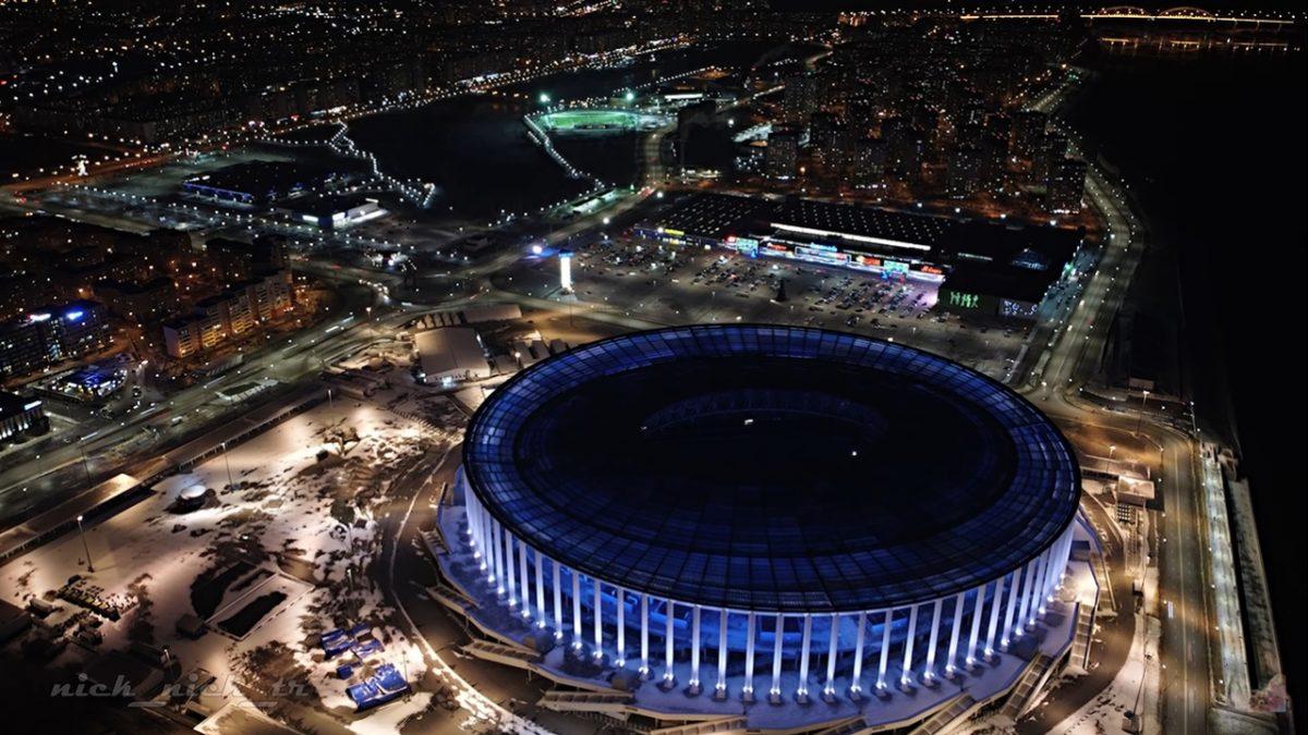 Видео дня: нижегородцам показали ночной город с высоты