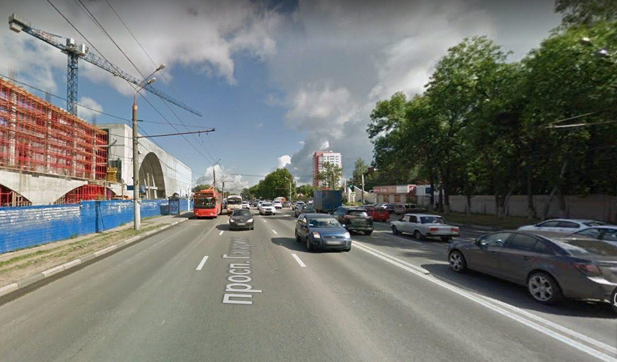 Движение транспорта по проспекту Гагарина частично перекроют с 5 мая