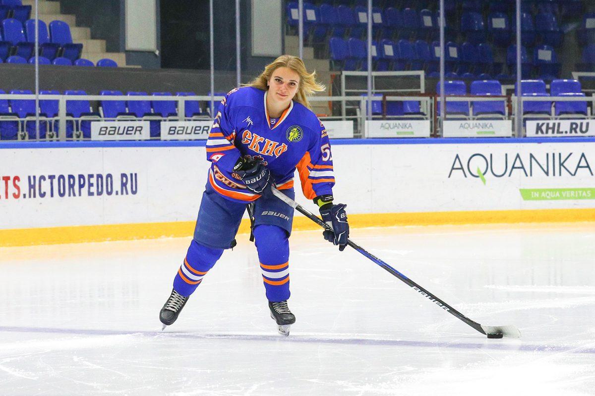 Нижегородские хоккеистки сыграют на Красной площади