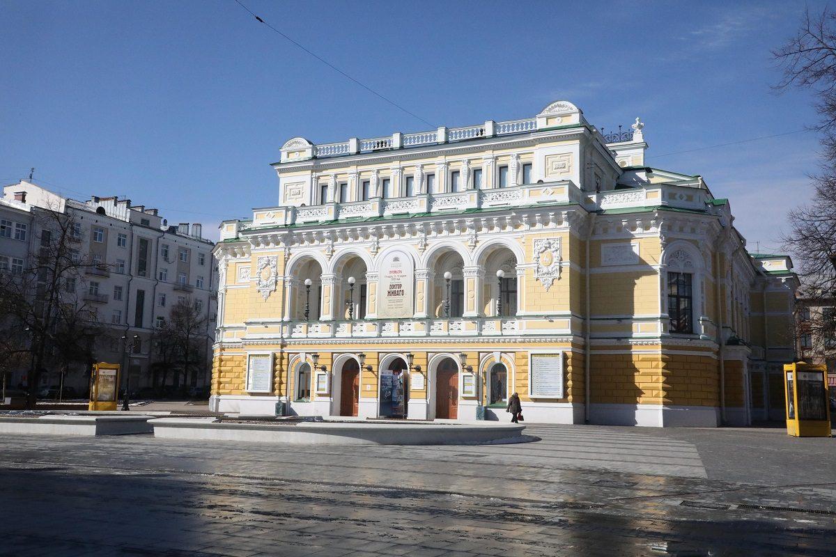 Нижегородскому театру драмы исполняется 223 года