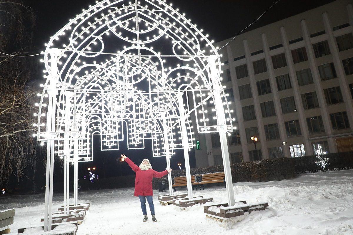 Сказка пришла в город: 15 волшебных кадров из новогоднего Нижнего Новгорода