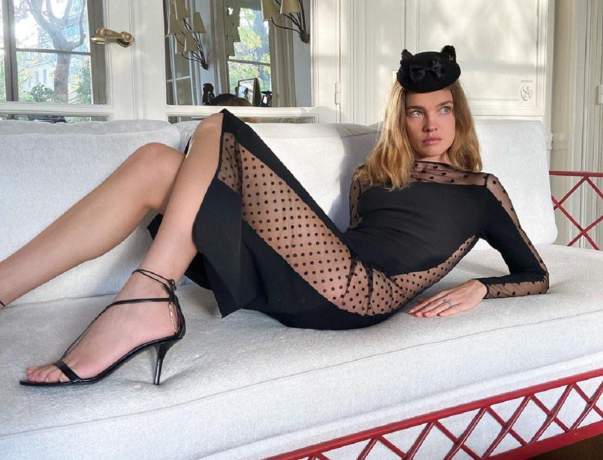 Наталья Водянова разделась для обложки модного журнала