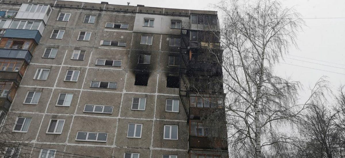 МЧС: угроза обрушения многоэтажки на улице Березовской отсутствует