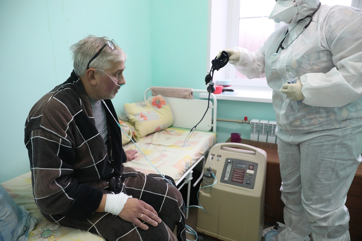 аппарат подачи кислорода коронавирус красная зона