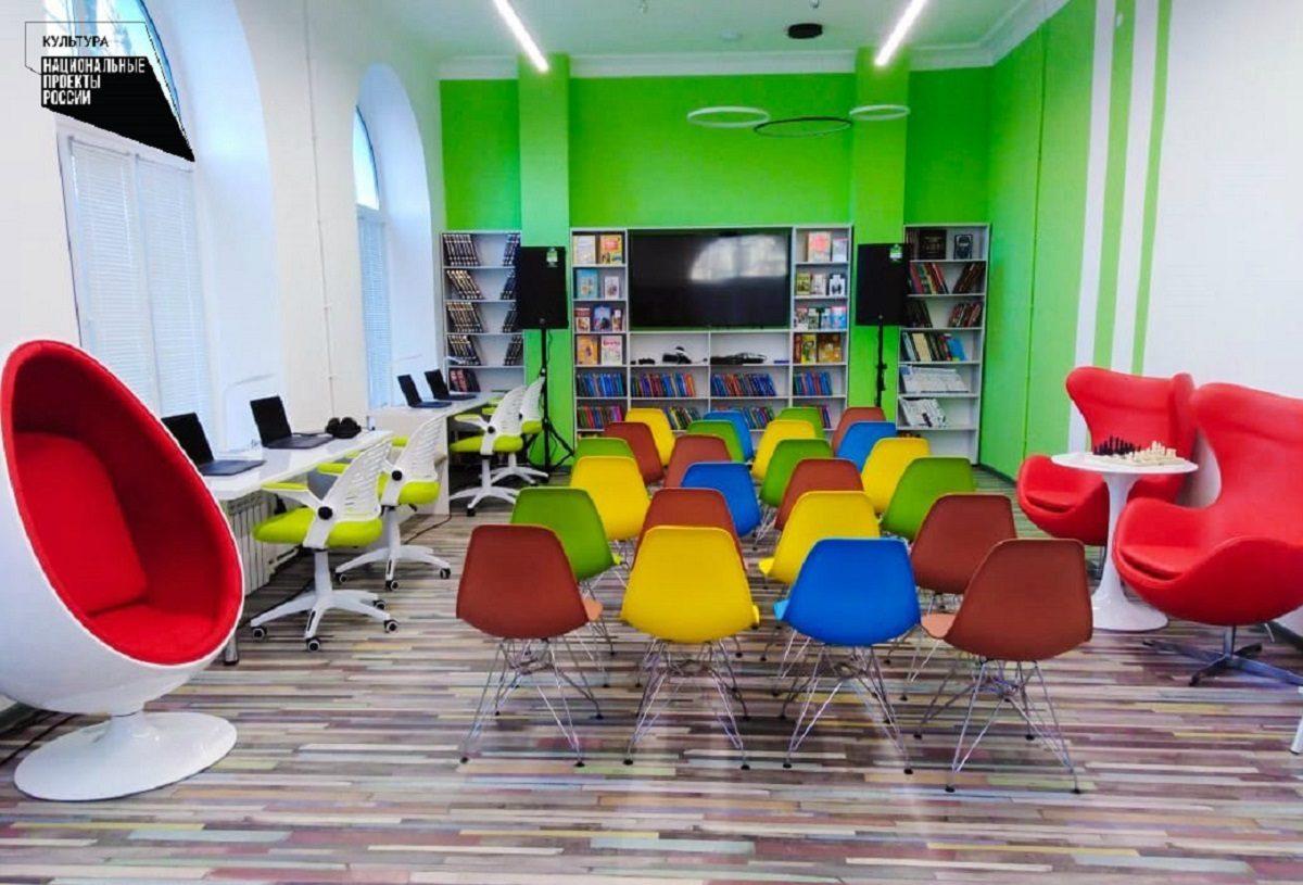 Библиотеку нового поколения открыли вВыксе