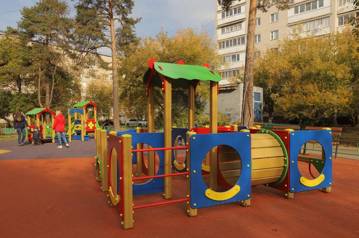 детская площадка дзержинск