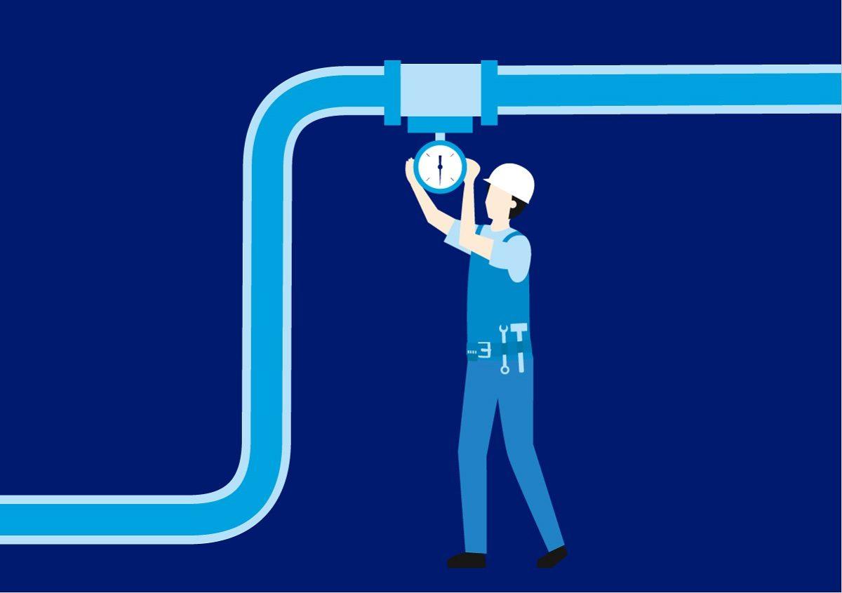 Водоканал снижает аварийность в условиях сложного температурного режима