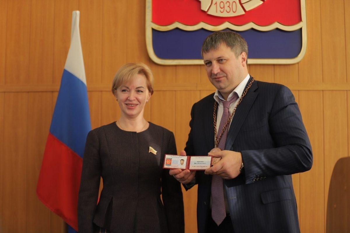Главой Дзержинска избран Иван Носков