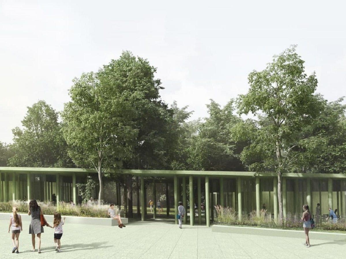 Комплекс кафе в едином стиле появится в парке «Швейцарии» на месте старых ресторанов