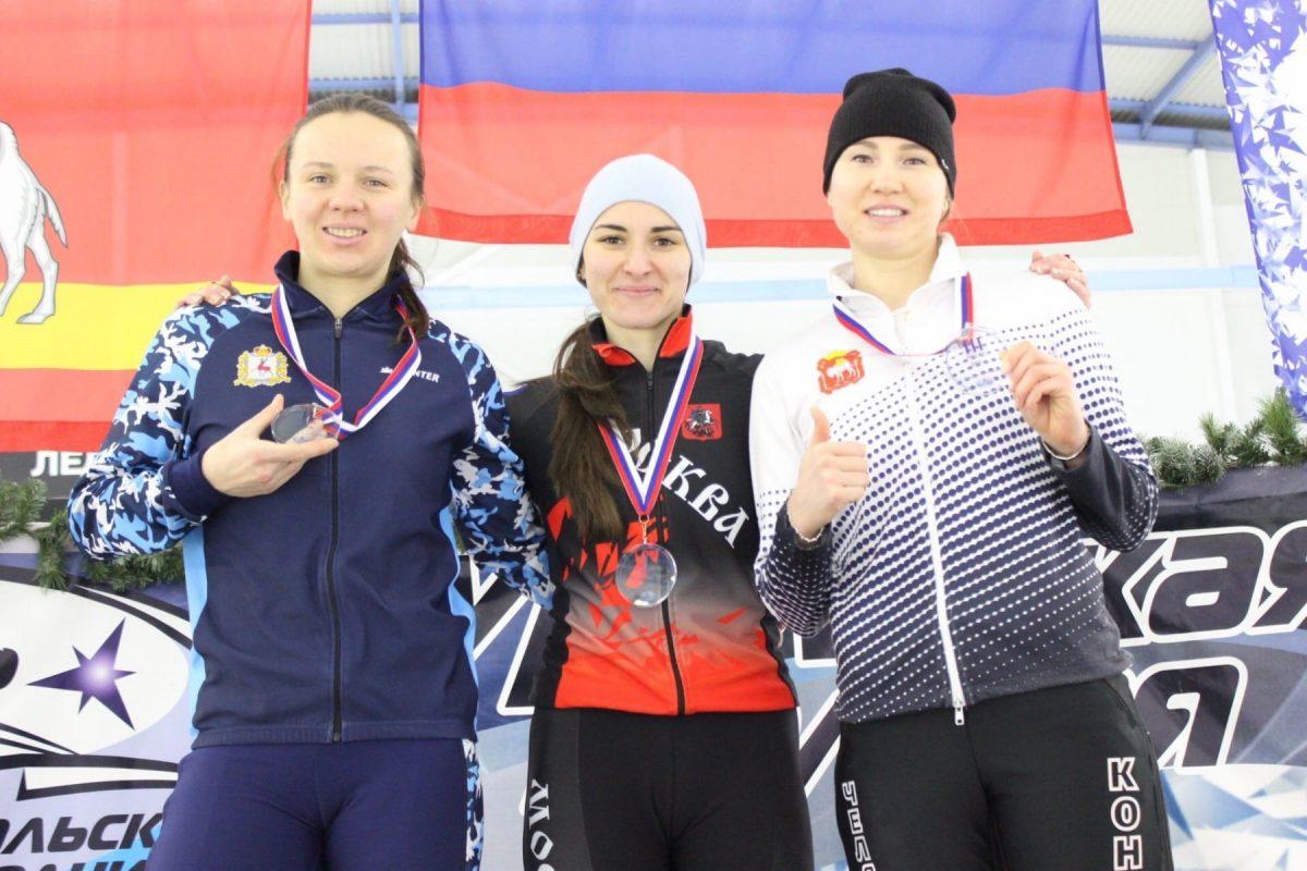 Нижегородка стала серебряным призером на Всероссийских соревнованиях по конькобежному спорту