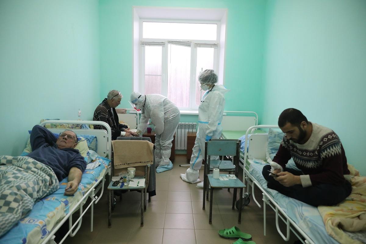 красная зона палата больница коронавирус