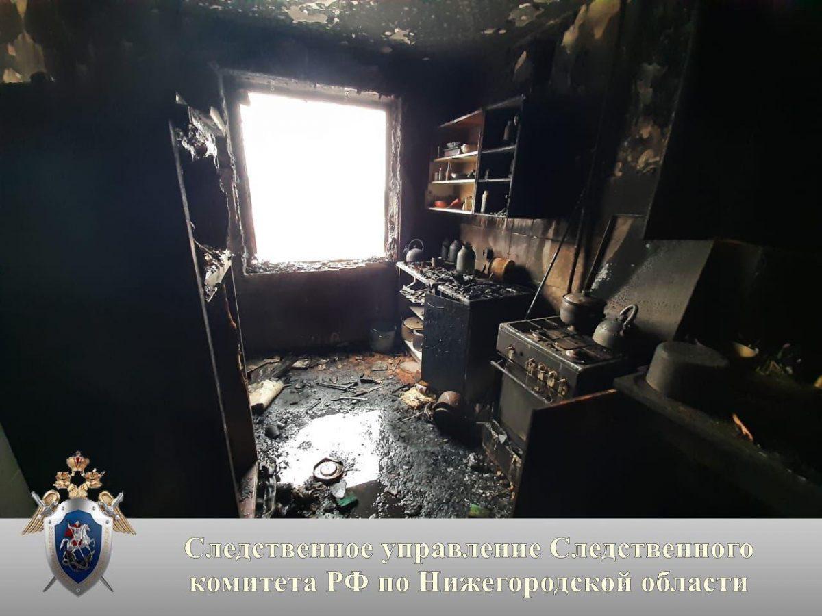 Нижегородка, погибшая при пожаре на улице Березовской, состояла на учете у психиатра