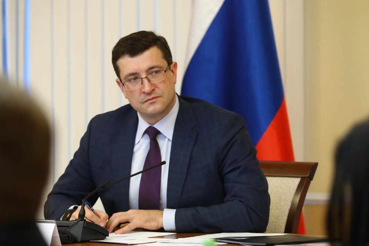 Поздравление губернатора Нижегородской области Глеба Никитина сДнем защитника Отечества