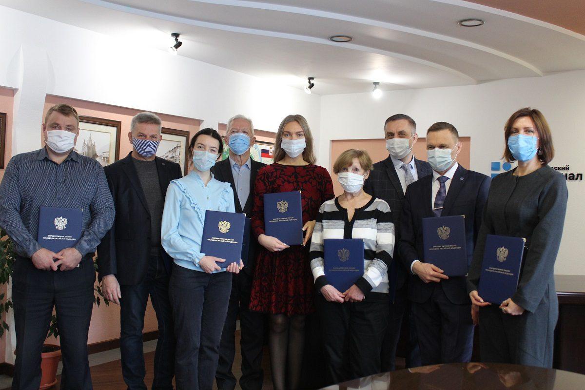 Сотрудники Нижегородского водоканала награждены благодарственными письмами Президента России