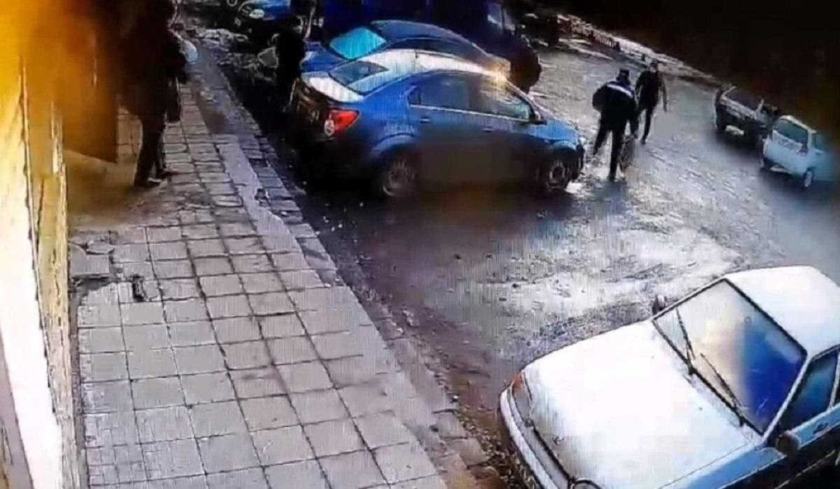 ограбление нападение