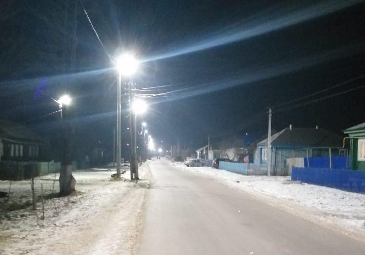 ВВознесенском поинициативе жителей модернизировано уличное освещение иотремонтирована дорога
