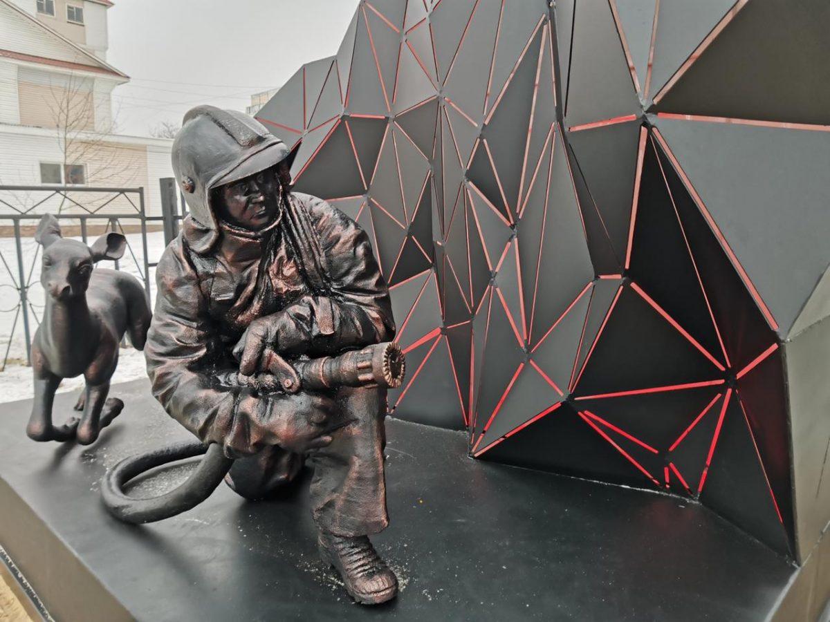 Памятник пожарным открыли вВыксе