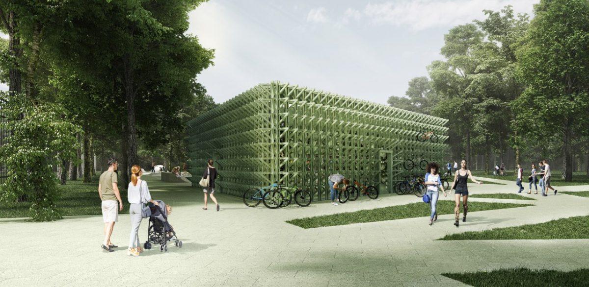 павильон проката парк Швейцария
