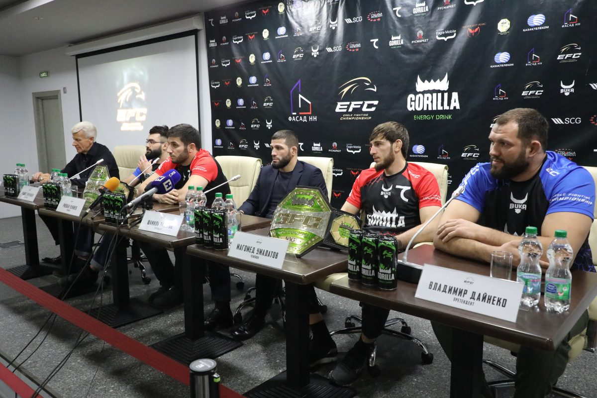 Хабиб Нурмагомедов в воскресенье откроет турнир своей лиги EFC в Нижнем Новгороде