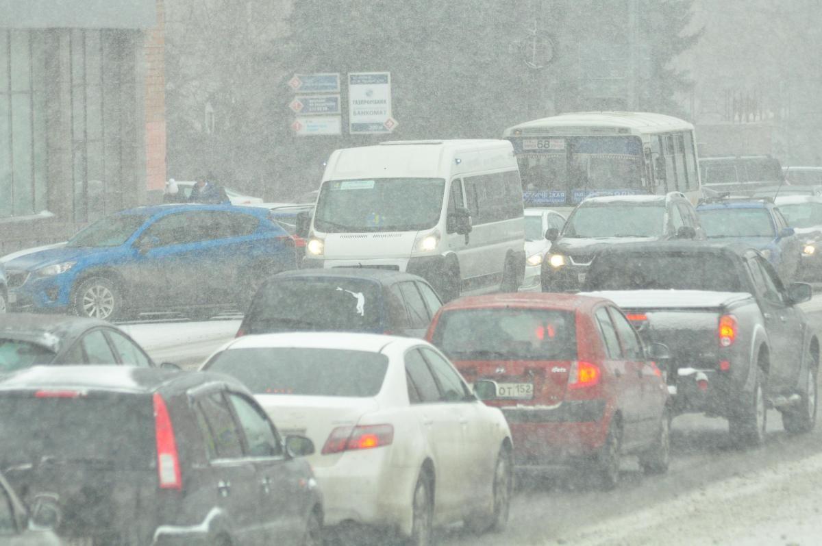 В Нижнем Новгороде зафиксированы пробки в 9 баллов