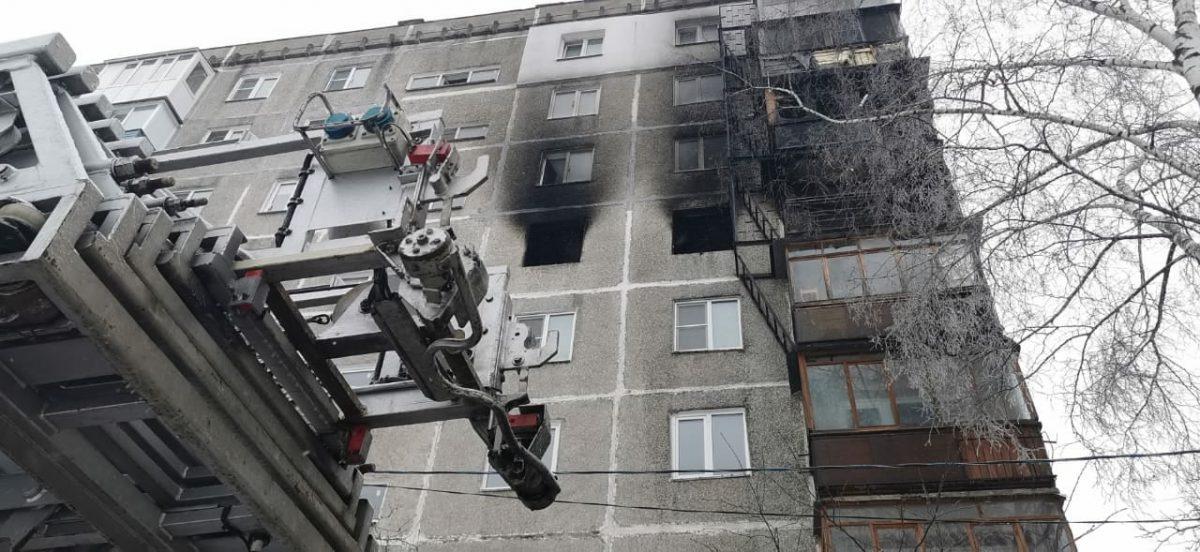 Пострадавших жильцов дома на улице Березовской разместили в ближайшей школе