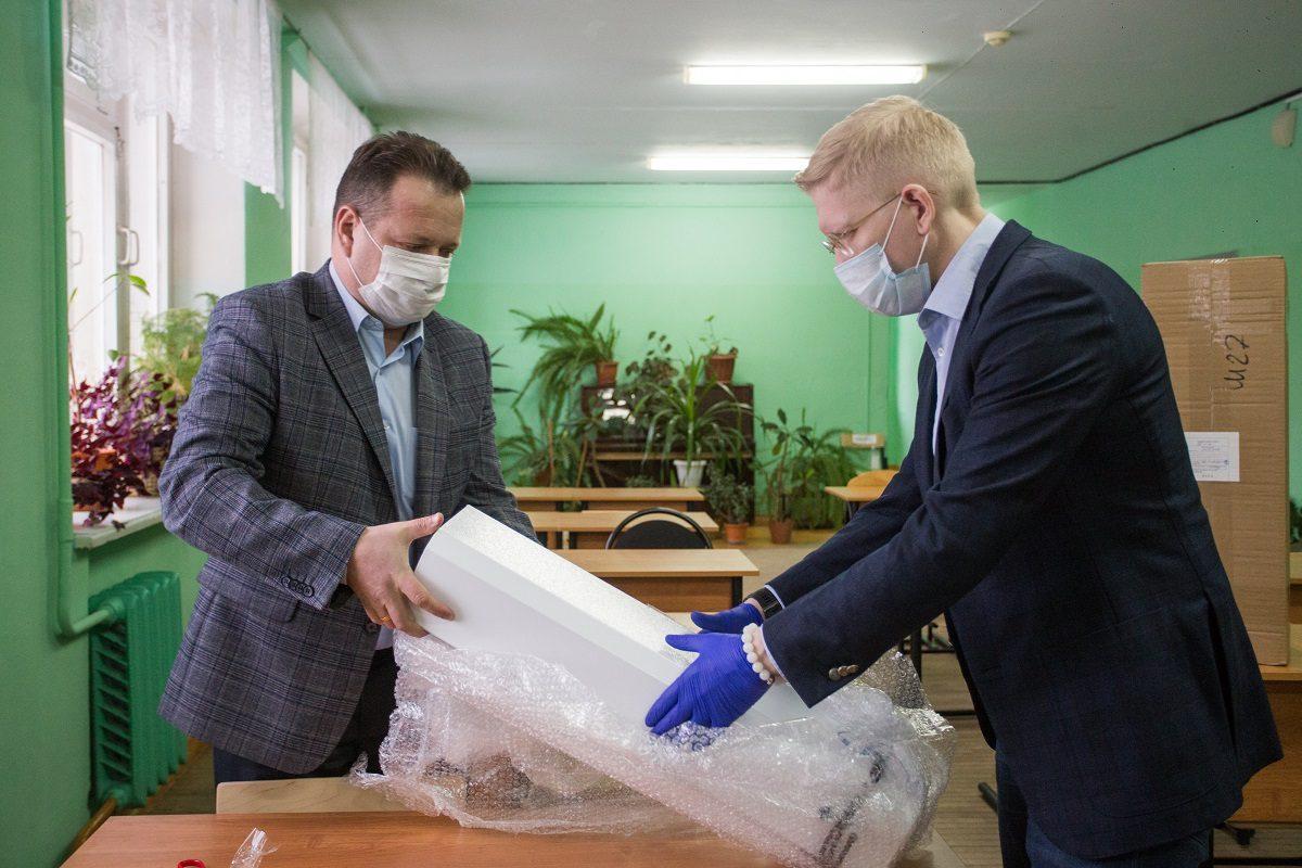 Детские сады и школы Нижнего Новгорода получили дополнительные рециркуляторы