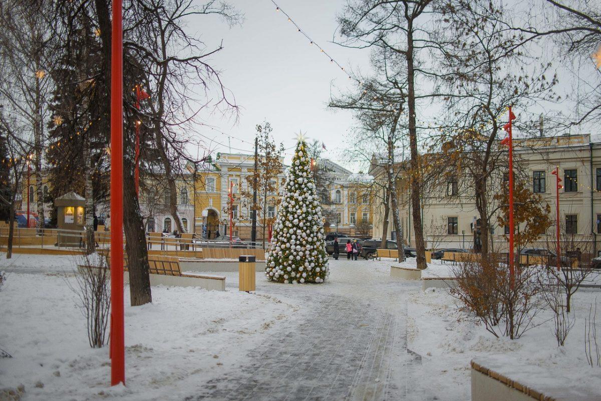 Обновлённый сквер Свердлова вошёл в топ лучших новых пространств России