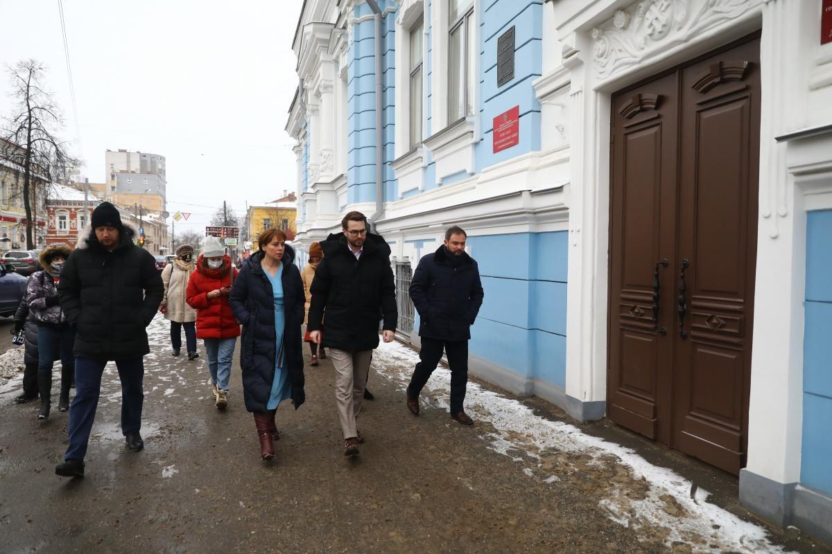 Исторические здания Нижнего Новгорода преображаются к юбилею: смотрим, как идет реставрация