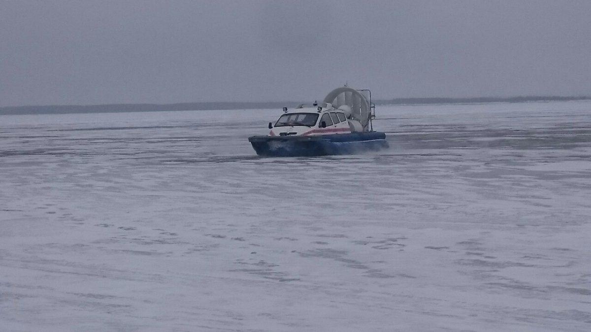 Женщина погибла, провалившись под лед на Оке
