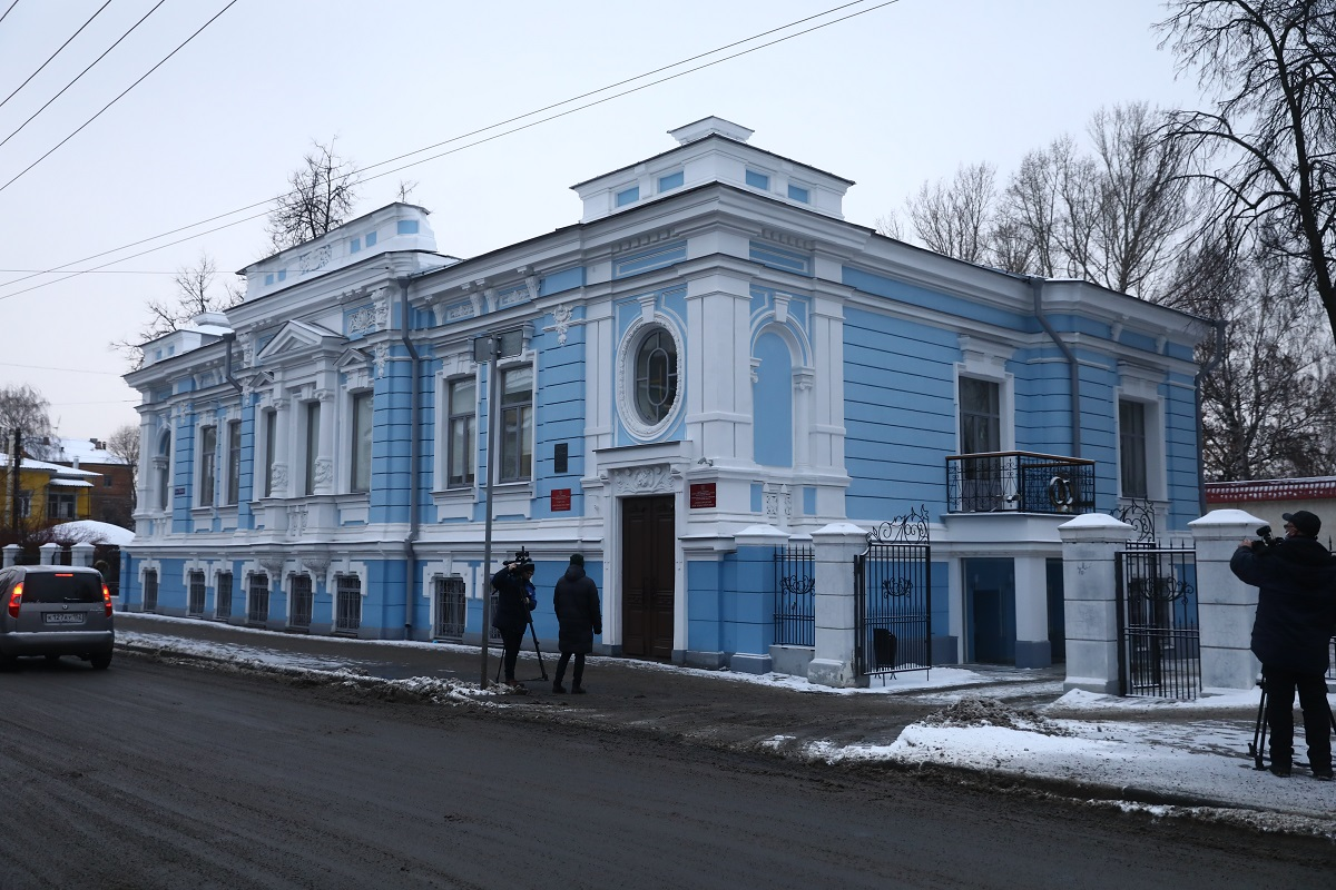 восстановление дома ЗАГС