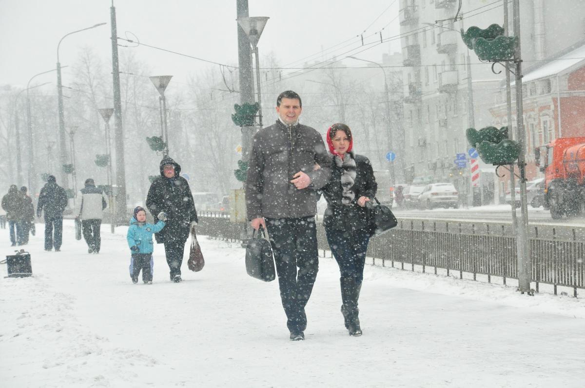 Нижегородцев ждут еще одни морозные выходные