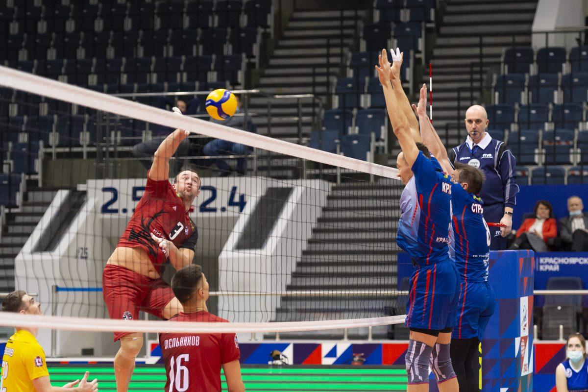 Волейболисты нижегородского клуба АСК добились победы в Красноярске