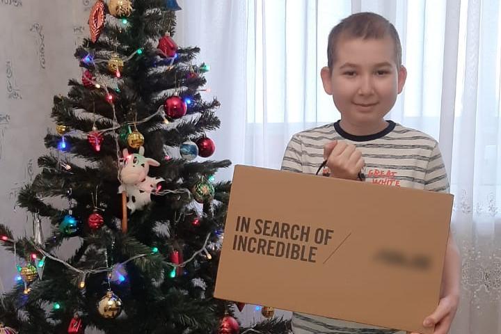 Андрей Саносян сделал новогодний подарок 13-летнему мальчику из Дзержинска