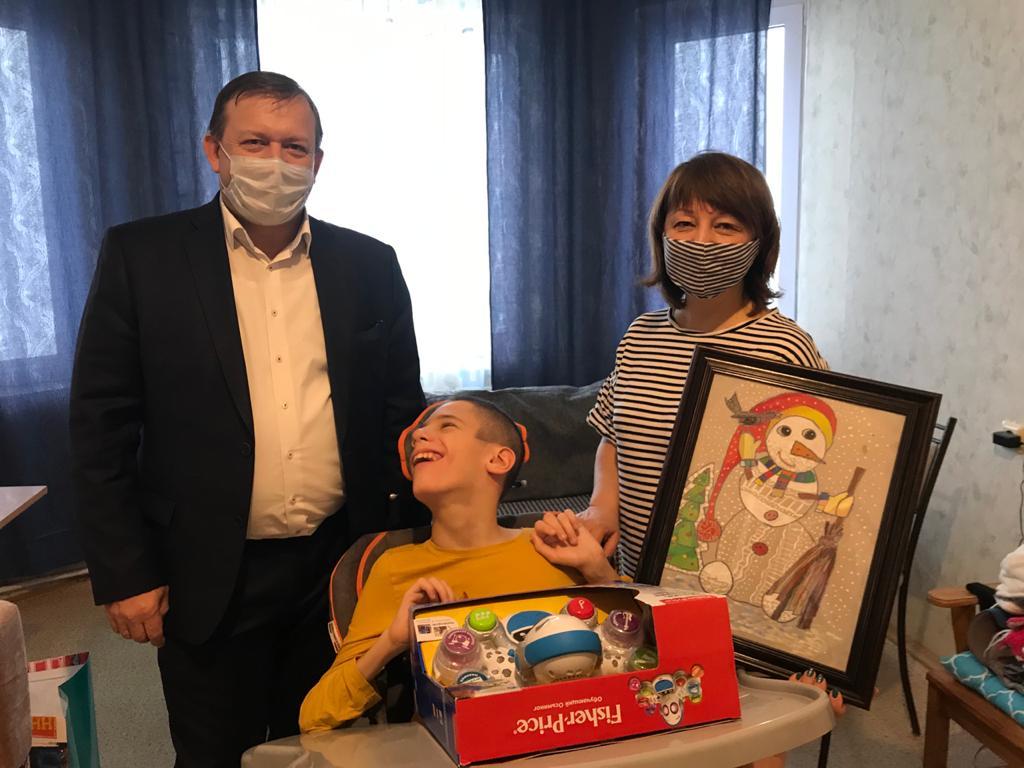 12-летний Денис Николаев изНижнего Новгорода съездит наморе благодаря «Елке желаний»