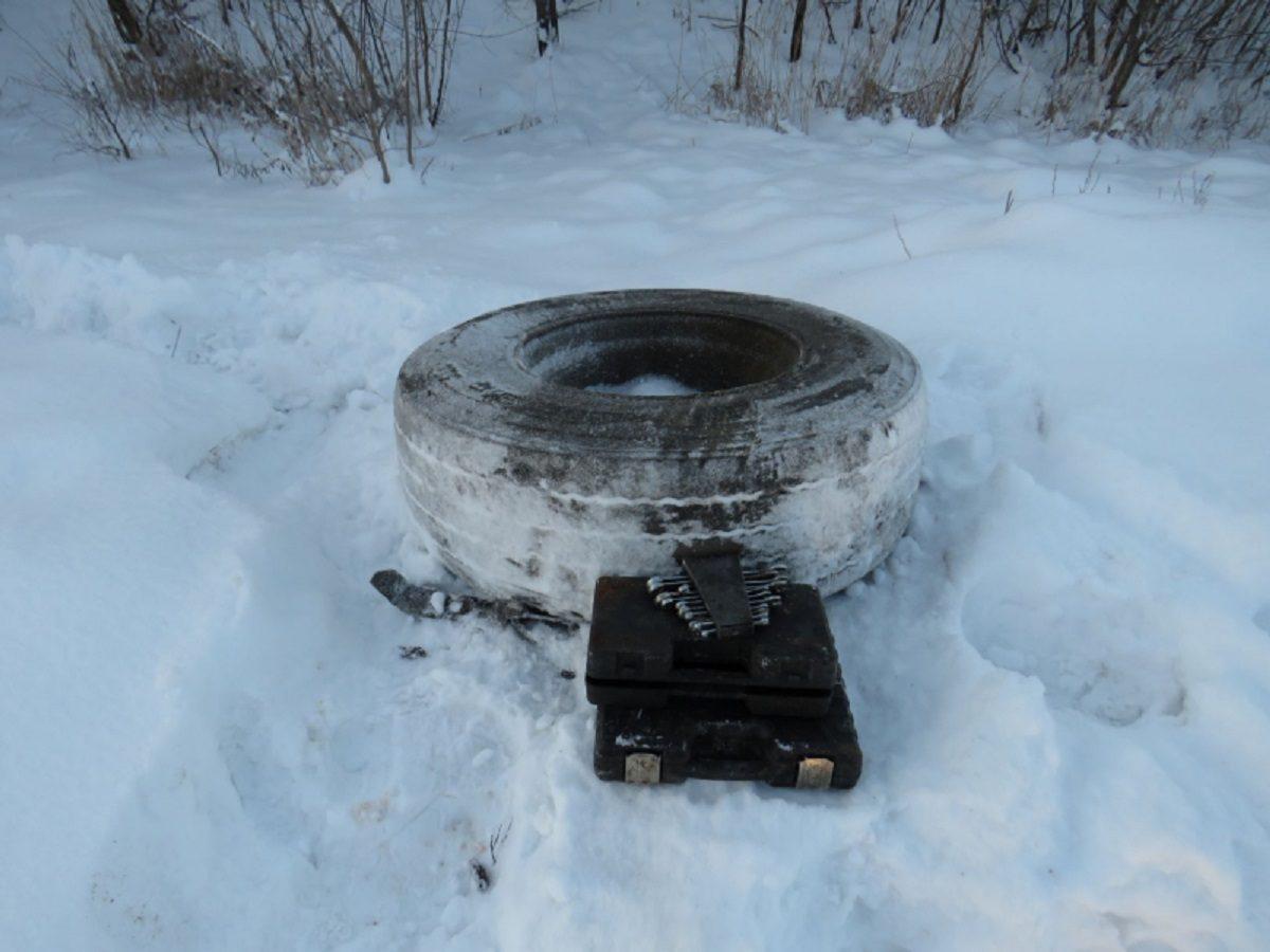 Банду похитителей колёс задержали на трассе под Нижним Новгородом