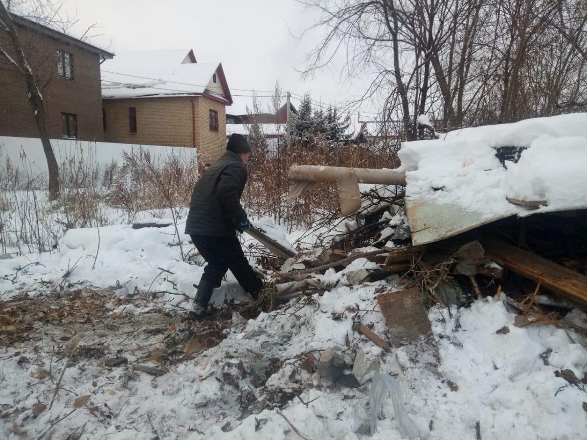Министерство экологии иприродных ресурсов контролирует вывоз несанкционированных свалок вКанавинском районе
