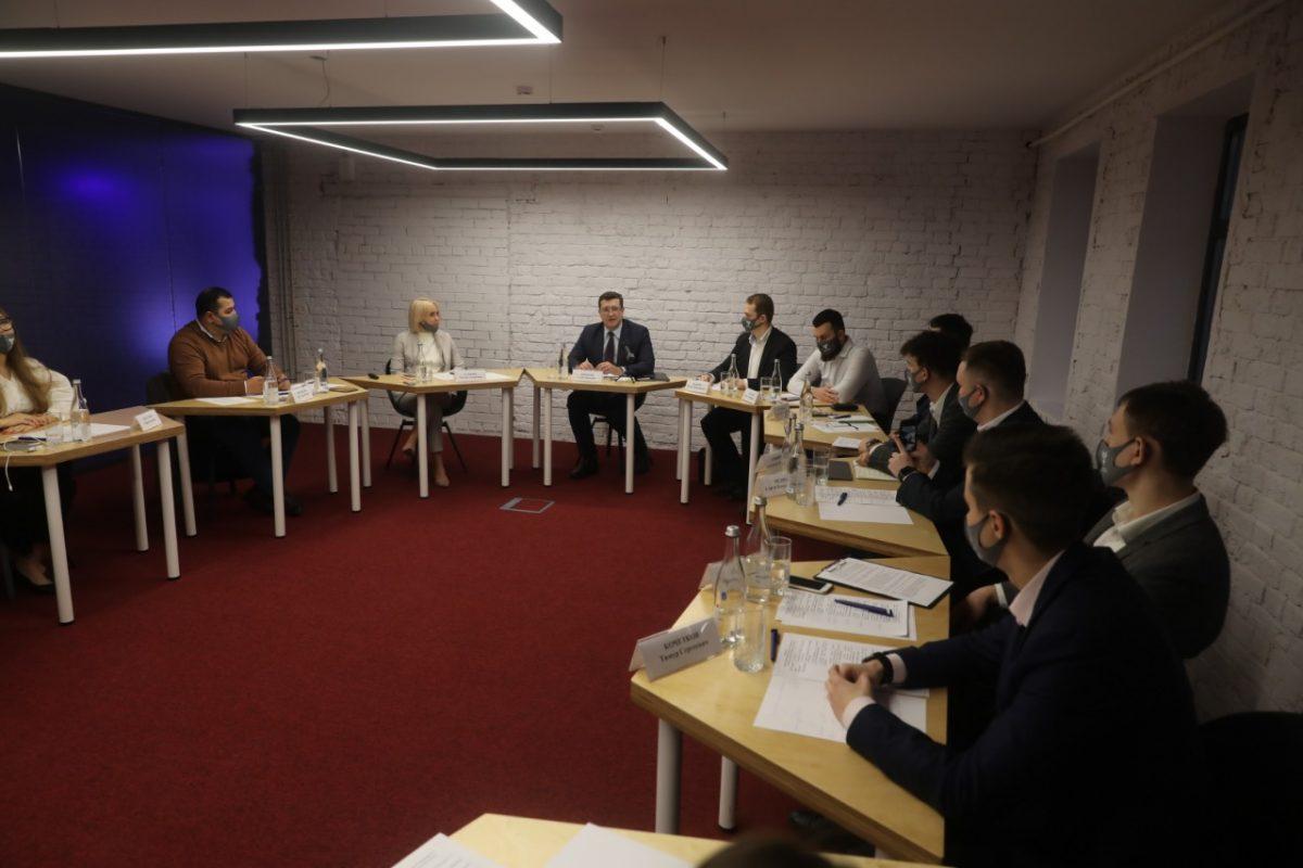 Глеб Никитин открыл первое заседание молодежного правительства региона
