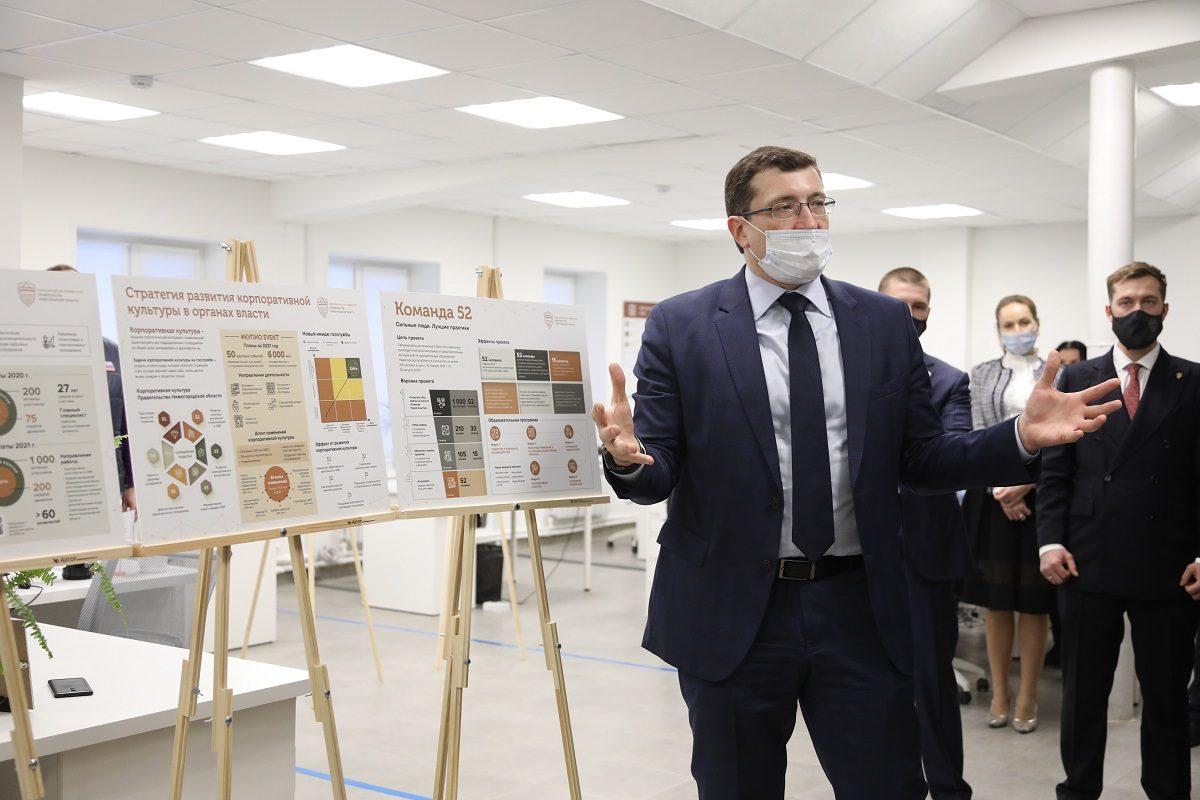 Антон Котяков иГлеб Никитин дали старт проекту «Команда 52»
