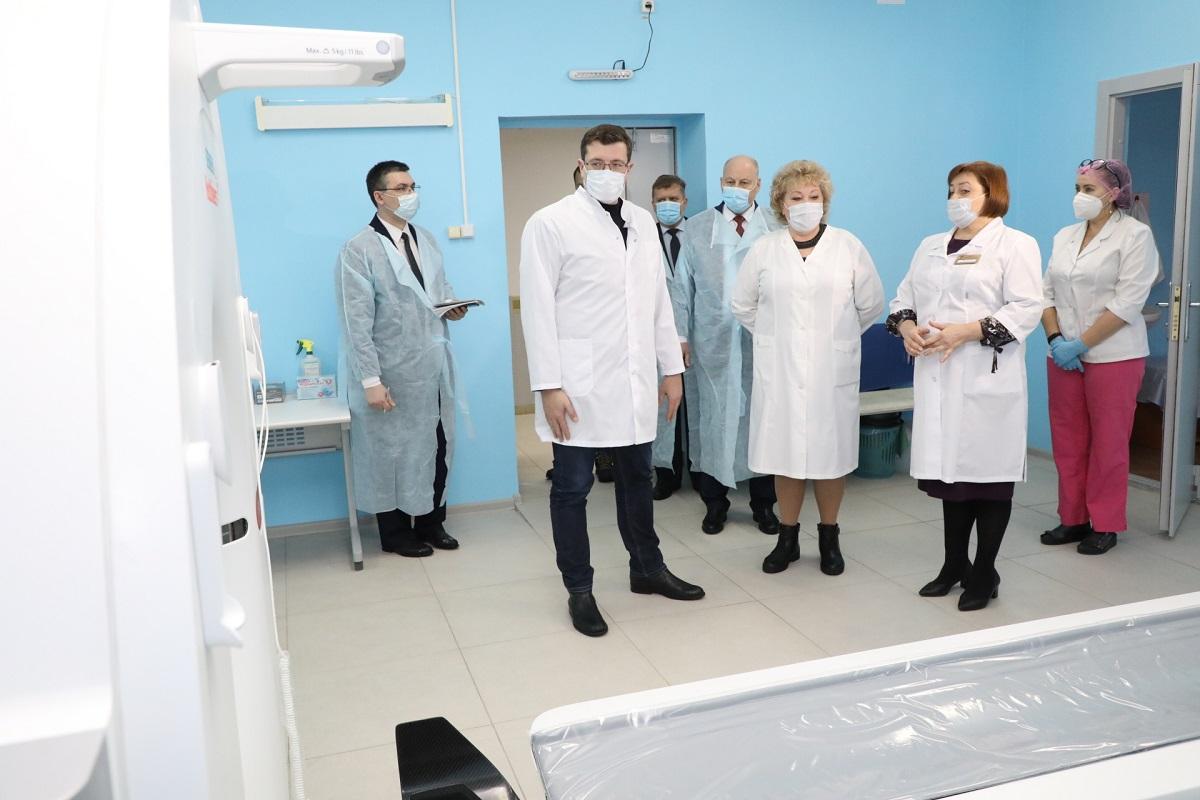 Починковская ЦРБ Глеб Никитин оборудование