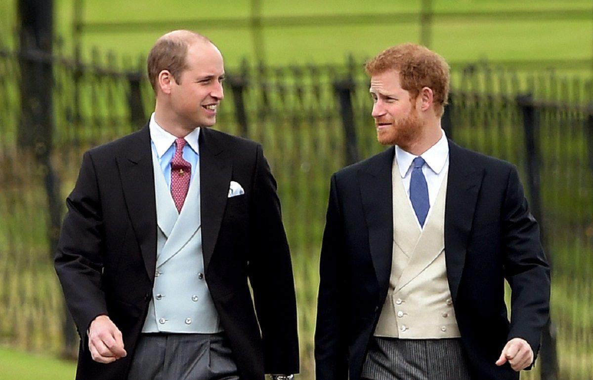 Принцы Гарри и Уильям помирились
