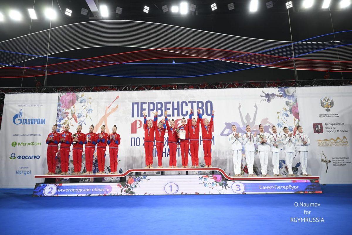 Нижегородские гимнастки завоевали две медали на Первенстве России