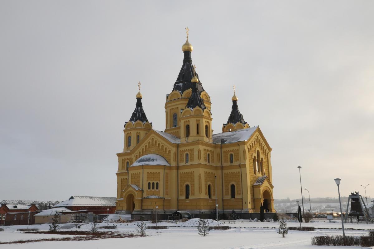 Опубликован график богослужений в Крещение в Нижнем Новгороде