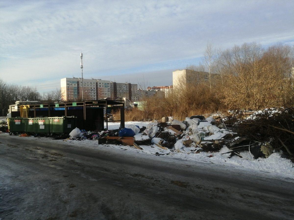 Несанкционированную свалку ликвидировали вКанавинском районе