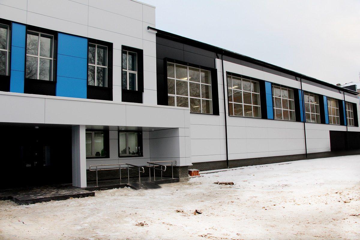 Обновленный стадион «Водник» открылся вгороде Бор