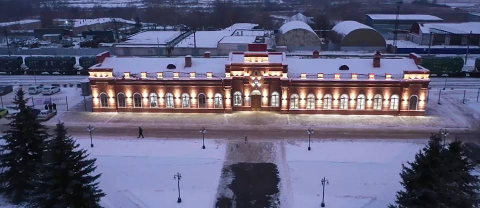 Вокзал со 120-летней историей отреставрировали Арзамасе