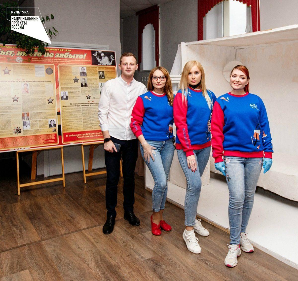 ВНижегородской области названы лучшие районы пореализации программы «Волонтеры культуры» в2020 году