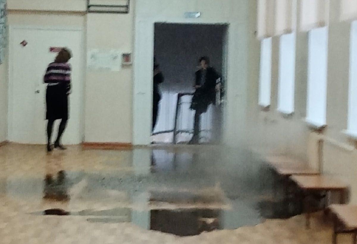Никто не пострадал: учащихся арзамасской гимназии эвакуировали из-за аварии в системе отопления