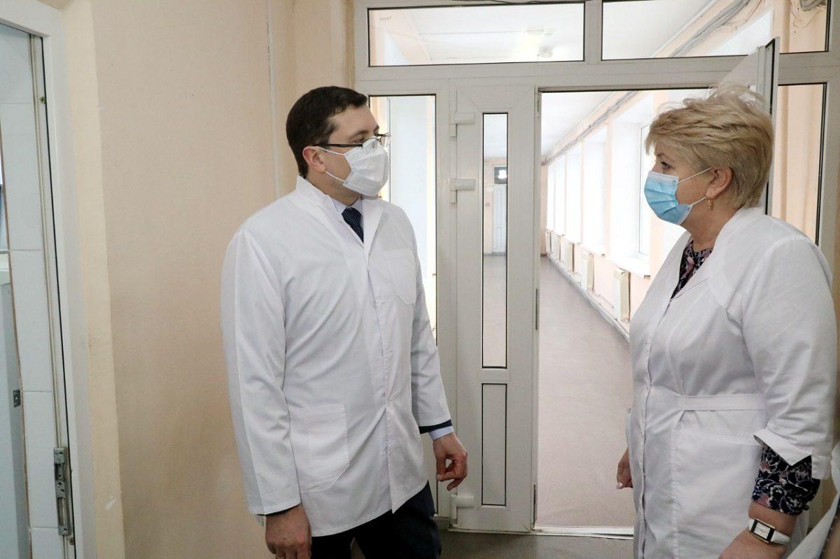Глеб Никитин: «Более 287 млн рублей планируется выделить намодернизацию Чкаловской ЦРБ»