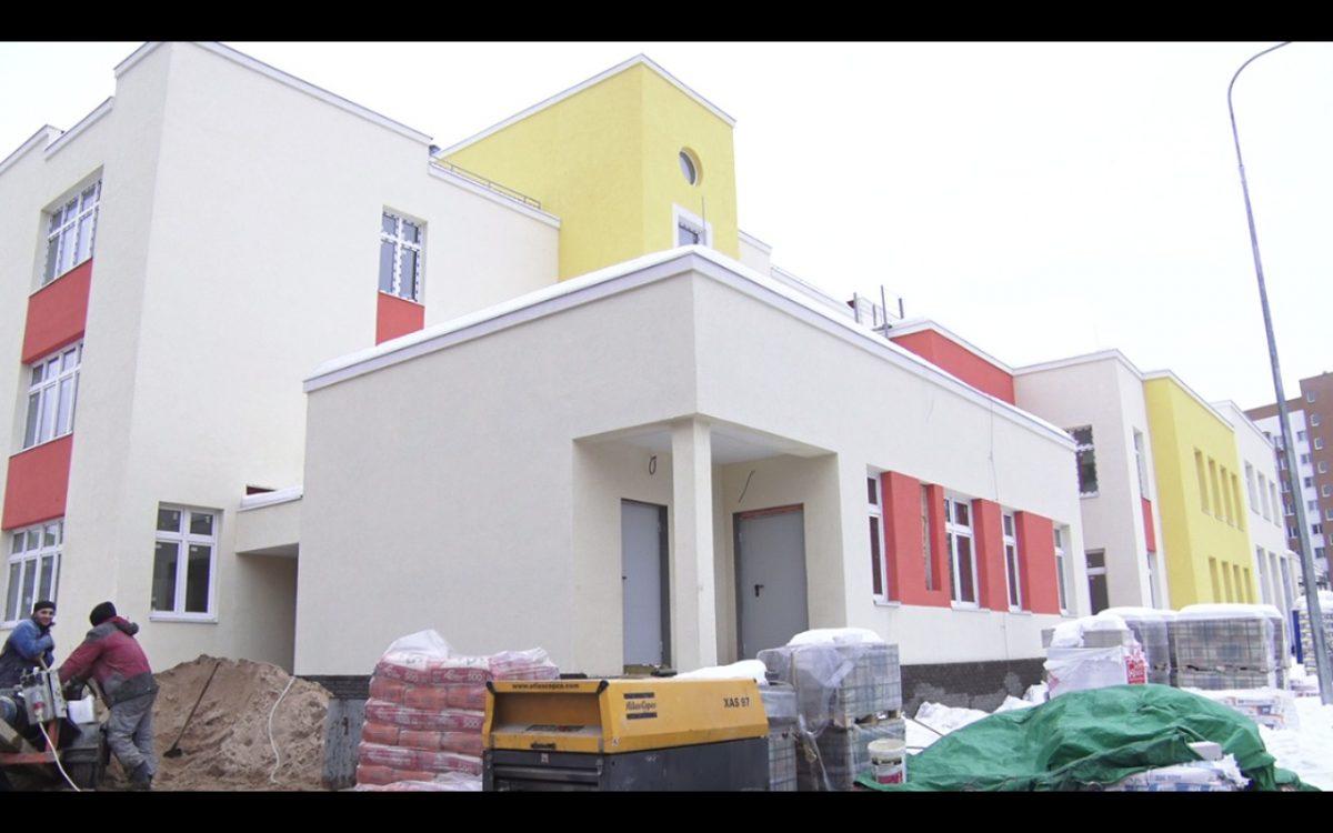 Детский сад на280 мест в Приокском районе Нижнего Новгорода достроят к концу мая